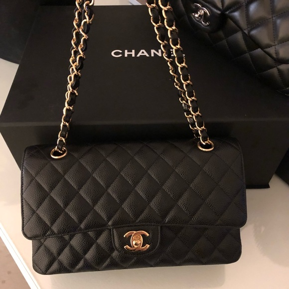 57c9c787bd14 CHANEL Bags | Sold Auth 2018 Classic Caviar Double Flap | Poshmark